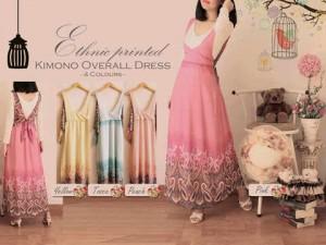 Kimono Overall Dress 105rb