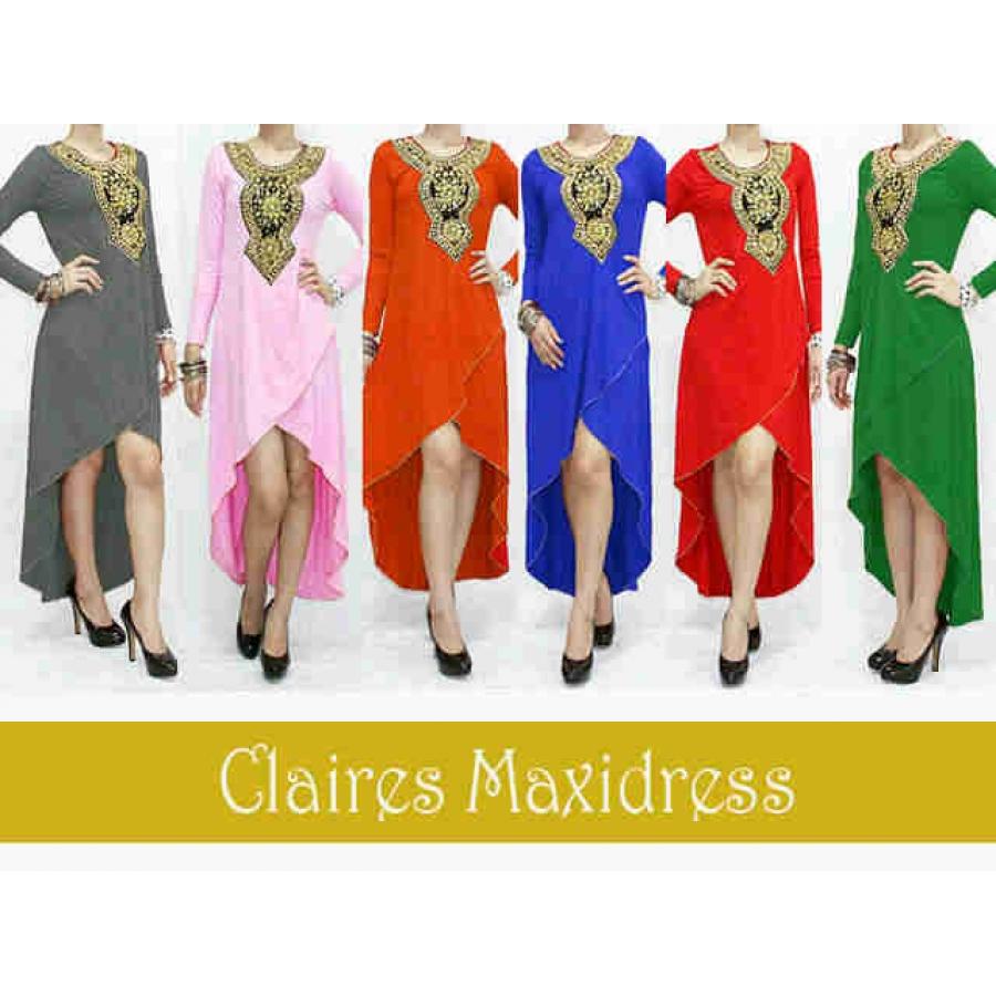 claires maxi dress