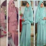 hijab fairuz 135rb, bahhan spandex 'orea include hijab + bros fit to xl ~ ready
