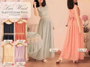 Lace Waist Dress 110rb