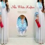 Baju Nila White Kaftan