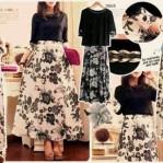 Florar Black & White Maxi