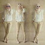 Baju + bawahan Rihana 3 in 1