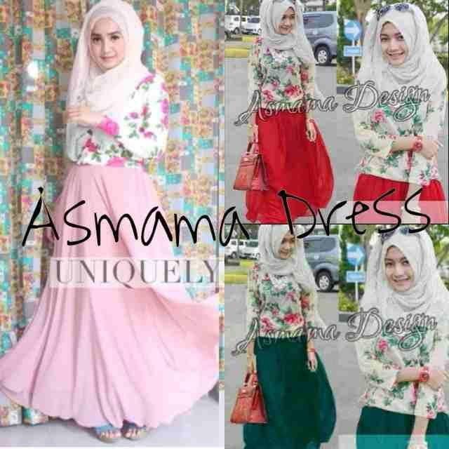asmama  bunga dress