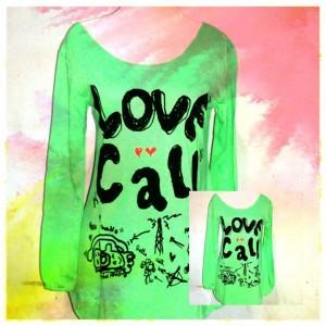 Love Call Kaos Atasan