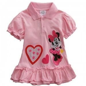 tee karakter Mini Mouse Pink