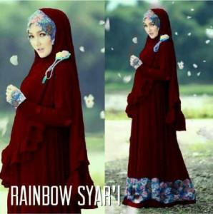 Rainbow Syar'i Marun