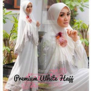 Premium White Hajj