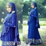 Rainbow Syar'i Biru
