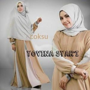 Yovina Syar'i Cokelat