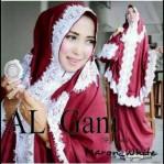 Alghani Maroon White