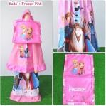 Mukena Frozen Pink