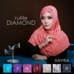 Jilbab Ruffle Diamond