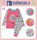 Mother Care Pjamas Sun Flower Bird Pink