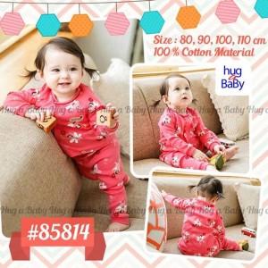 Pajama Hug & Baby Pink