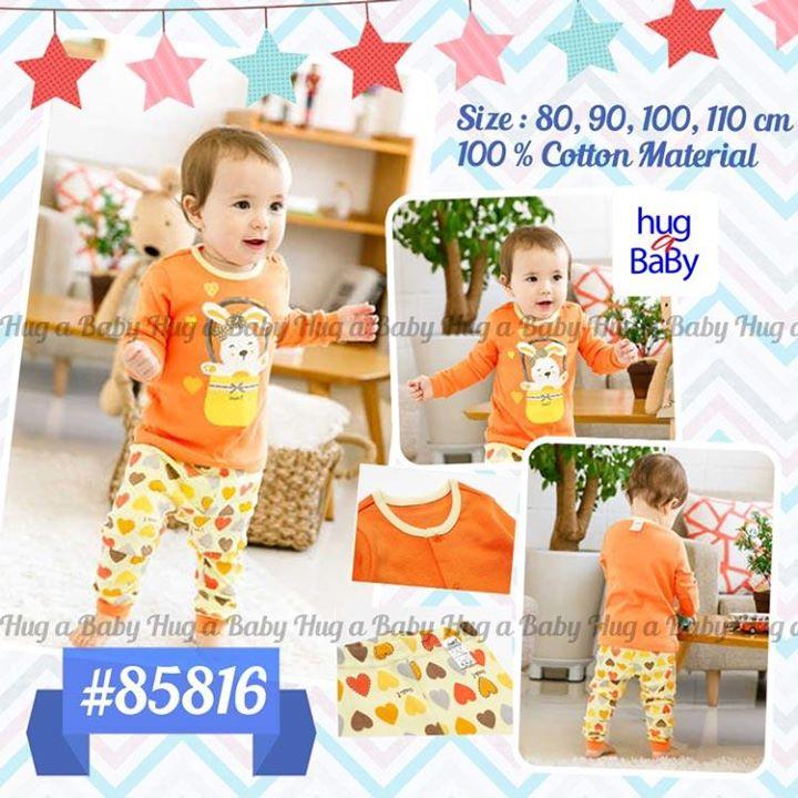 set orange baby