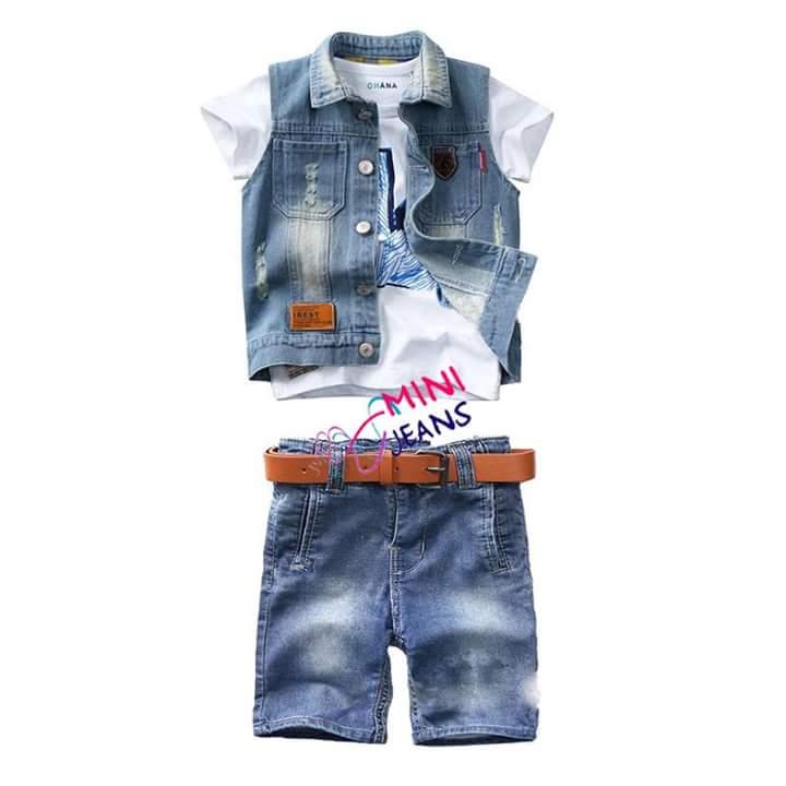 minni jeans set