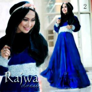 Rajwa Maxi Dress Biru