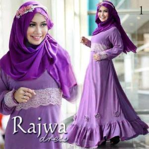 Rajwa Maxi Dress Ungu