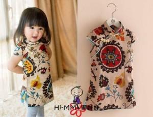 Dress Shanghai Putih
