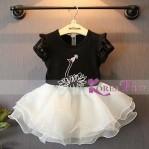 Set Black Korean Swan