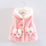 Jaket Bludru Pink
