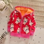 Jaket Anak Impor Boneka Merah