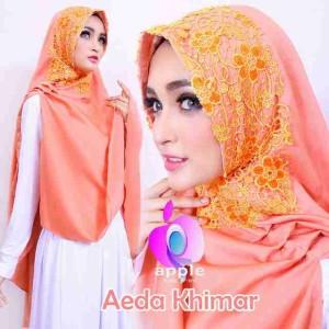 Aida Khimar Orange