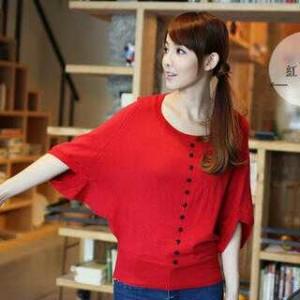 Set Blouse Merah