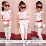 L Nice Set White