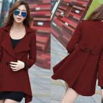 Coat Ninet Marun
