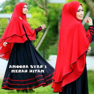 Amora Turqish Merah Hitam