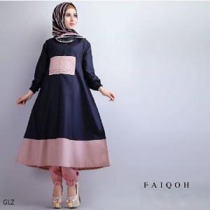 Faiqoh Set Navy