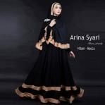 Arina Syari Hitam Mocca