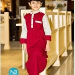 jubah adam merah 1