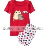 Baju Anak Tidur Branded Motif