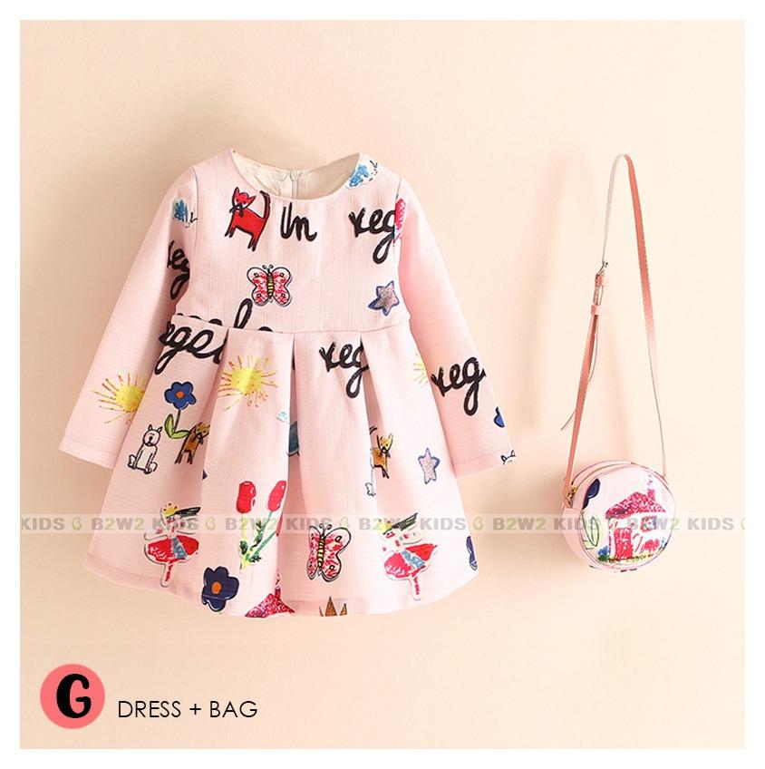 dress b2w2 + bag