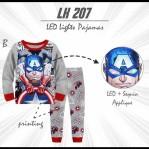 Setelan anak LED impor size big