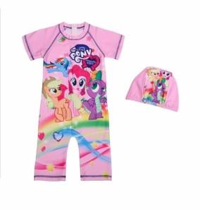 baju renang jumpsuit anak perempuan impor